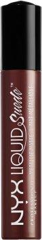 Рідка помада для губ NYX Professional Makeup Lingerie Liquid Metallic Matte Lipstick 32 Neat Nude (800897103132)
