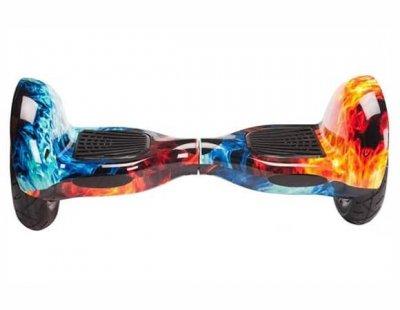 "Гироборд Smart Balance Wheel U10 Pro +Autobalance 10"" Лед и пламя (4607661)"