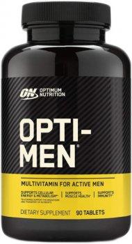Вітаміни Optimum Nutrition Opti-Men 90 таблеток (748927052237)