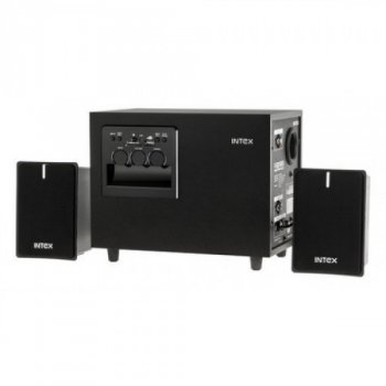 Мультимедійна акустика INTEX SUF Black KOM0327 з низькочастотним сабвуфером