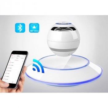 Левитационная портативна Bluetooth колонка ANGEL Leviting з функцією прийому дзвінків