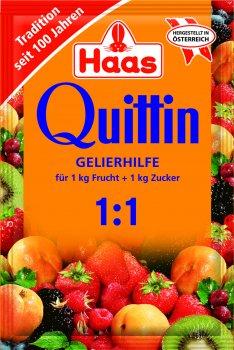 Упаковка квиттина Haas для варки варенья 1+1 17 г х 6 шт (4023800100905)