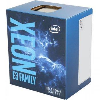 Процессор Intel Xeon E3-1220 v6 (BX80677E31220V6)