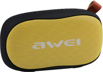 Акустическая система AWEI Портативная акустика AWEI Y900 Bluetooth Speaker Yellow F_52867