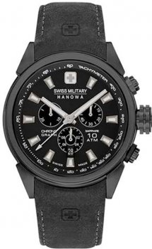 Чоловічий годинник SWISS MILITARY HANOWA 06-4322.13.007.07