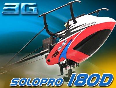 Вертолет на радиоуправлении Nine Eagles Solo Pro 180 3D RTF (NE30231824207004A)
