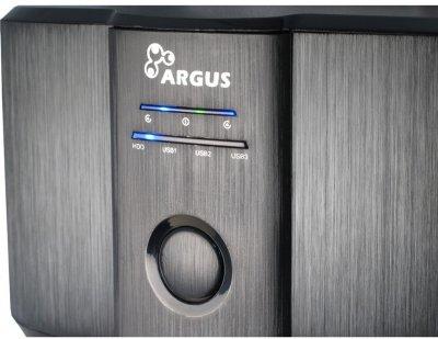 """Док-станція Argus для HDD/SSD 2.5""""/3.5"""" SATA + 3х USB 3.0 (GD-PD05U)"""
