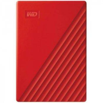 """Внешний жесткий диск 2.5"""" 4TB WD (WDBPKJ0040BRD-WESN)"""
