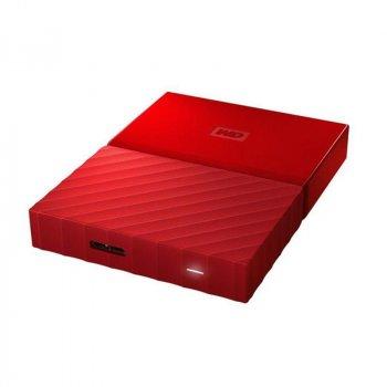 """Накопичувач зовнішній HDD 2.5"""" USB 3.0 TB WD My Passport Red (WDBYFT0030BRD-WESN)"""