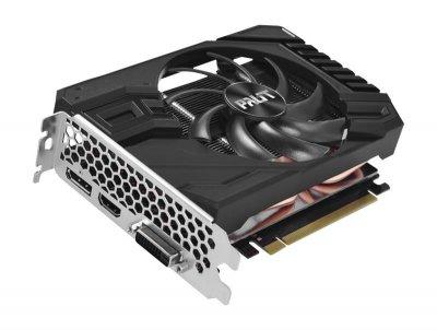 Відеокарта GF GTX 1660 Ti 6GB GDDR6 StormX OC Palit (NE6166TS18J9-161F)