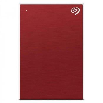 "Накопичувач зовнішній HDD 2.5"" USB 5.0 TB Seagate Backup Plus Portable Red (STHP5000403)"