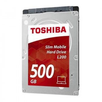 "Накопичувач HDD 2.5"" SATA 500GB Toshiba L200 5400rpm 8MB (HDWK105UZSVA)"