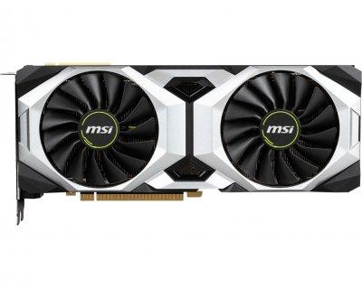 Видеокарта GF RTX 2080 Ti 11GB GDDR6 Ventus MSI (GeForce RTX 2080 TI VENTUS 11G)