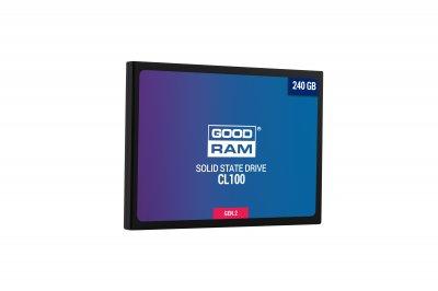 "Накопичувач SSD 240GB GOODRAM CL100 GEN.2 2.5"" SATAIII TLC (SSDPR-CL100-240-G2)"