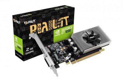 Відеокарта GF GT 1030 2GB GDDR5 Palit (NE5103000646-1080F)