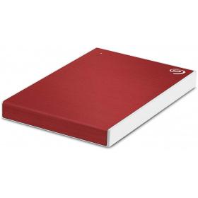 """Накопичувач зовнішній HDD 2.5"""" USB 1.0 TB Seagate Backup Plus Slim Red (STHN1000403)"""
