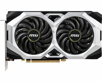 Відеокарта GF RTX 2060 6GB GDDR6 Ventus MSI OC (GeForce RTX 2060 Ventus 6G OC)