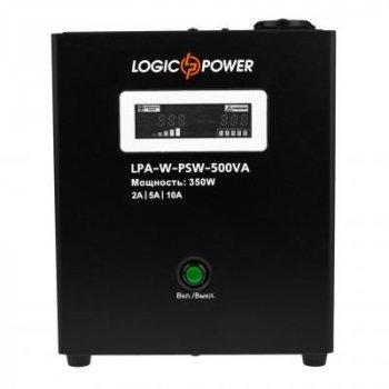 Пристрій безперебійного живлення LogicPower LPA - W - PSW-500VA, 2A/5А/10А (7145)