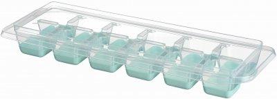 Форма для льда Ardesto Fresh с крышкой 9.5х27х4 см Голубая (AR1101TP)
