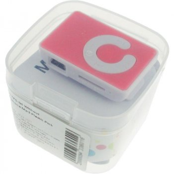 TOTO TPS-04 Without display&Earphone Mp3 Plastic Pink