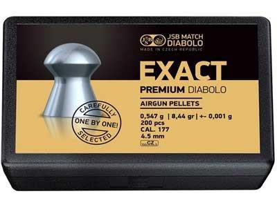 Пули для пневматического оружия JSB Exact Premium 4,52 мм