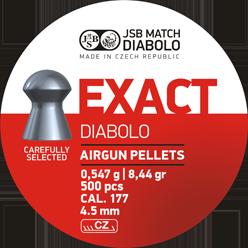 Пули для пневматического оружия JSB Diabolo Exact 4,53 мм