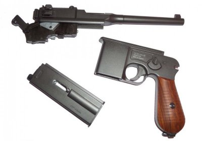 Пістолет пневматичний SAS Mauser M712 Blowback