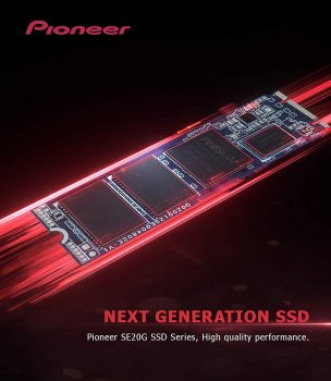 Pioneer APS-SE20G 512GB M. 2 NVMe 1.3 (APS-SE20G-512)