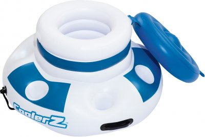 Термосумка для басейну Bestway 70 cм 12 л Білий Синій (43117E)
