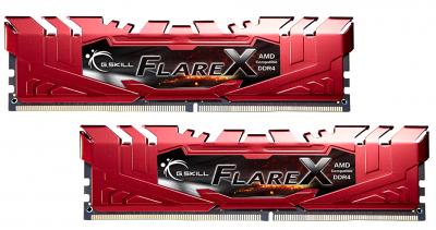 Оперативна пам'ять G. Skill DDR4-2400 32768MB PC4-19200 (Kit of 4*8192) Flare X (F4-2400C15Q-32GFXR)