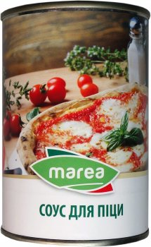 Упаковка соусов для пиццы Marea Pizza Sauce Spiced 2 шт х 400 г (8033219791324)