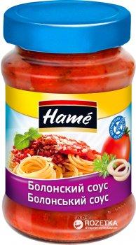 Упаковка соуса Hame Болонский 350 г х 10 шт (18594001030610)