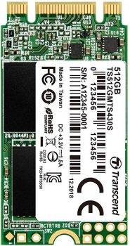Накопичувач SSD M. 2 512GB Transcend (TS512GMTS430S)