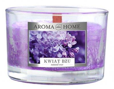 Ароматична свічка з натурального воску Aroma Home 836667 Бузок 115 г (5902846836667)