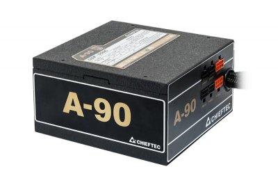 Блок живлення Chieftec GDP-650C, ATX 2.3, APFC, 14cm fan, Gold, modular, RTL