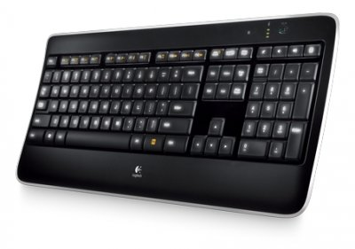 Клавиатура Logitech Wireless Illuminated K800 (920-002395)