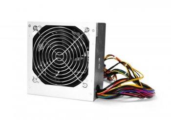 Блок живлення Logicpower ATX-550W, 12см,4 SATA, 2x6pin, OEM, без кабелю живлення