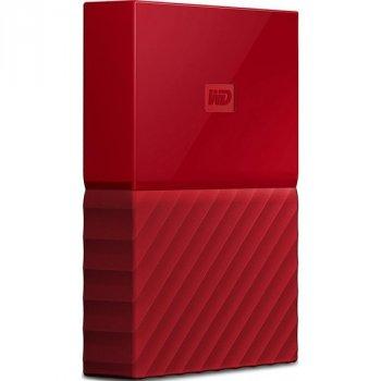 Зовнішній жорсткий диск Western Digital My Passport 3 ТБ червоний