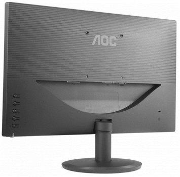 "Монітор AOC 23.8"" I2480SX/00 IPS Black; 1920х1080, 250 кд/м2, 5 мс, D-Sub, DVI"