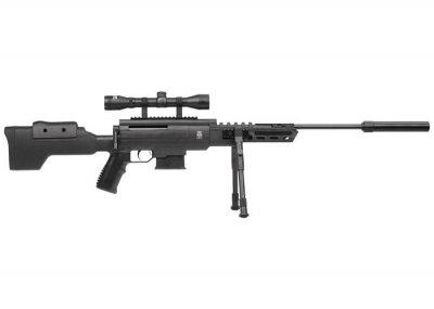 Гвинтівка пневматична Norica Black OPS Sniper + приціл 4x32
