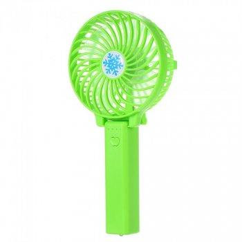 Вентилятор ручної mini FAN 2 з USB Зелений (970732912с)