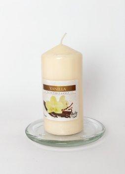 Свічка ароматизована Bispol Ваніль 6х12 см(9194583)