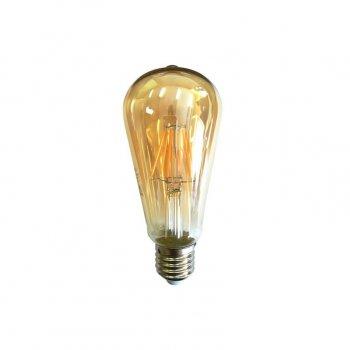 Лампа Едісона Azzardo Lampa Deko E27 6W Golden Glass (Ll127063)