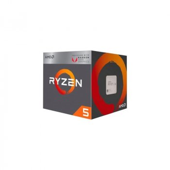 AMD AM4 Ryzen 5 2400G 3900MHz - 6MB Cache - 65W, Radeon Vega 11, BOX, Raven Ridge