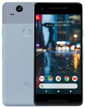 "Google Pixel 2 4/128 Gb blue, 5"", Snapdragon 835, 3G, 4G, NFC"