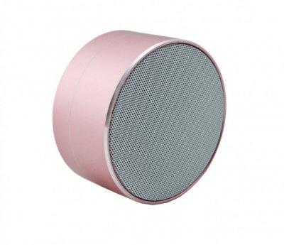 Портативная bluetooth MP3 колонка для прослушивания музыки Nuevo A10 Bluetooth 4.1 Нежно розовый