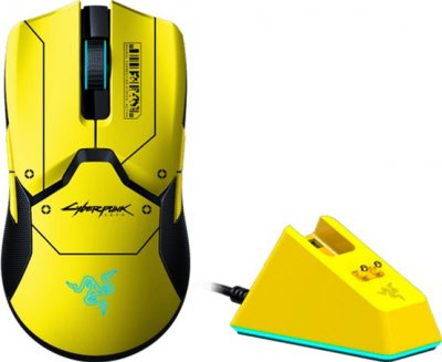Мышь Razer Viper Ultimate Wireless & Mouse Dock Cyberpunk 2077 Edition (RZ01-03050500-R3M1)