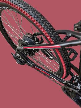 "Електровелосипед MAKE 36V 12Ah 500W рама 17""/ 26"" чорно-червоний (MAKE36V125001726BR)"