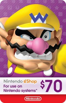 Nintendo eShop Card $70 (USA)