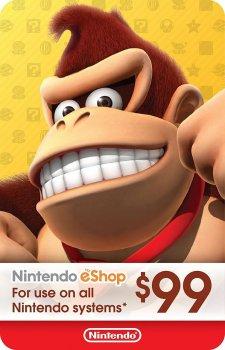Nintendo eShop Card $99 (USA)